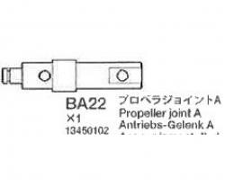 Propeller Joint A 58409 Tamiya 3450102