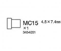 KRAGENROHR 4.5 X 7.4 MM Tamiya 3454051