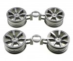 Wheels (4) 58411 Tamiya 9335508