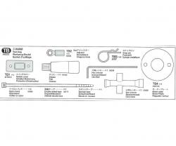 Werkzeug-Beutel 58340 Tamiya 9400232