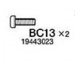 Schraube 2x6mm Tamiya 9443023