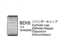 Alu-Dämpferkappe oben (BJ8) (4) Tamiya 9444358 309444358