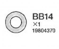 Unterlegscheiben 4mm (10) Tamiya 9804370