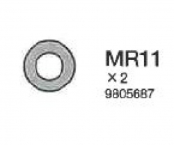 O-RING 4MM Tamiya 9805687