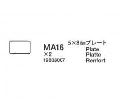 Platte 5x8mm Tamiya 9808007