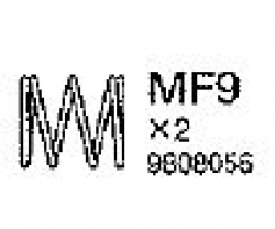 Dämpfer-Feder (58367) Tamiya 9808056