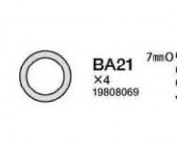 O-Ring 7mm (58371) Tamiya 9808069