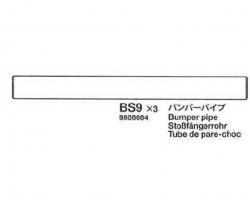 Stoßfängerrohr (58372) Tamiya 9808084