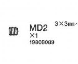 Madenschrauben 3x3 mm Tamiya 9808089