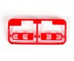 BB-Teile Gläser rot klar MB Actros 56335 Tamiya 9000499 319000499