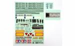 Sticker Metal Mercedes Benz Actros 56335 Tamiya 9495770 319495770