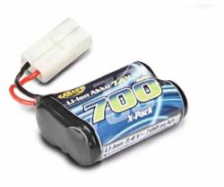 Ersatzakku 7,4V Li-Ion Batterie 700MAH Carson 608172 500608172