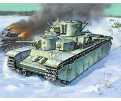1:35 T-35 Heavy Soviet Tank Carson 783667 500783667