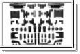 C-TEILE AUFHÄNGUNG M-03 Tamiya 50793