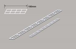 Treppengeländer (N) x 92mm Plastruct