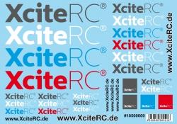 Dekorbogen XciteRC A5 XciteRC 10500000