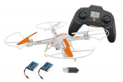 Rocket 260 3D - 4 Kanal RTF Quadrocopter weiß mit 2 MP Kamera und Zusatzakku XciteRC 15002170