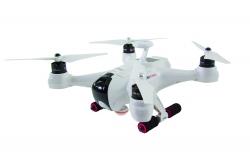 XciteRC Quadrocopter X350 Premium RTF - FPV-Drohne mit Full HD Fisheye Kamera, GPS, Groundstation, Akku, Ladegerät und Devo F12E Fernsteuerung mit int