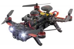 Walkera Runner 250 Advance FPV Racing-Quadrocopter RTF - FPV-Drohne mit HD Kamera, GPS, Akku, Ladegerät, Devo 7 Fernsteuerung Walkera 15003760