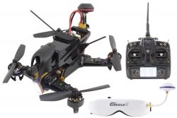 XciteRC FPV Racing-Quadrocopter F210 RTF - FPV-Drohne mit Sony HD-Kamera, OSD, Videobrille, Akku, Ladegerät und DEVO 7 Fernsteuerung Walkera 15003960