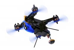 Walkera FPV Racing-Quadrocopter F210 3D RTF - FPV-Drohne mit Sony HD-Kamera, OSD, Akku, Ladegerät und DEVO 7 Fernsteuerung Walkera 15003970