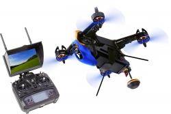 Walkera FPV Racing-Quadrocopter F210 3D RTF - FPV-Drohne mit Sony HD-Kamera, 5- FPV-Monitor, OSD, Akku, Ladegerät und DEVO 7 Fernsteuerung Walkera 150