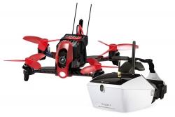 Walkera FPV Racing-Quadrocopter Rodeo 110 RTF - FPV-Drohne mit HD-Kamera, Goggle V4 Videobrille, Akku, Ladegerät und DEVO 7 Fernsteuerung Walkera 1500