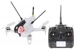 Walkera FPV Racing-Quadrocopter Rodeo 150 RTF weiß- FPV-Drohne mit HD-Kamera, Akku, Ladegerät und DEVO7 Fernsteuerung Walkera 15004400