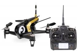 Walkera FPV Racing-Quadrocopter Rodeo 150 RTF schwarz - FPV-Drohne mit HD-Kamera, Akku, Ladegerät und DEVO7 Fernsteuerung Walkera 15004470