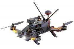 Walkera Runner 250 Pro Racing-Quadrocopter RTF - FPV-Drohne mit HD Kamera, GPS, OSD, Akku, Ladegerät und Devo 7 Fernsteuerung Walkera 15004600