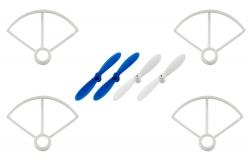 Crashset Rocket 55XXS V2 (Rotorblätter, Rotorschutzbügel) XciteRC 15007004