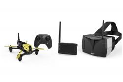 Hubsan X4 Storm Racing Drone FPV Quadrocopter - RTF-Drohne mit HD-Kamera, 4.3-Videobrille, Akku, Ladegerät und Fernsteuerung Hubsan 15030750