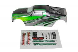 Karosserie für Stadium Truck one12 grün XciteRC 30401009