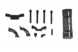 Heckflügel mit Halterung, Karosseriehalter für twenty4 Serie XciteRC 30600019