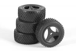 Räder für Buggy Twenty4 B komplett (4) XciteRC 30600023