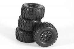 Räder für Twenty4 MT/ SC komplett (4) XciteRC 30600025