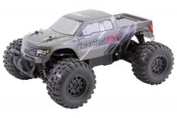 Monster Truck twenty4 MT V2.0 - 4WD RTR Modellauto, silber/schwarze Karosserie XciteRC 30610000