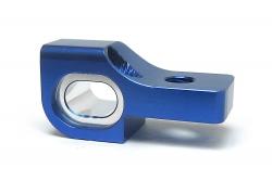 KM-Racing K8 Aluminium Querlenkerhalter vorne unten hinten rechts (blau) KM-Racing 31201053