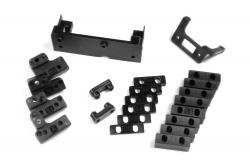 KM-Racing H-K1/ K8 Plastikteile für Radioplatte Set KM-Racing 31201145