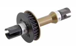 KM-Racing H-K1 Aluminium Starrachse vorne (Spool) KM-Racing 31301243