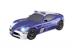 Teknotoys Alfa Romeo 8C Police Slot-Car 1:43 Teknotoys 39001002