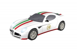 Teknotoys Alfa Romeo 8C Italia Slot-Car 1:43 Teknotoys 39001003