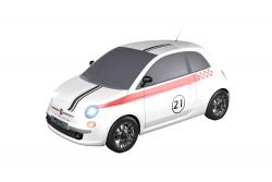 Teknotoys Fiat 500 Sport #21 Slot-Car 1:43 Teknotoys 39001008