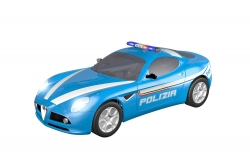 Teknotoys Alfa Romeo 8C Polizia Slot-Car 1:43 Teknotoys 39001010