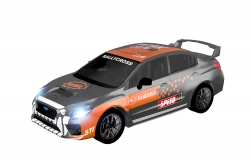 Teknotoys Subaru WRX grau/orange Slot-Car 1:43 Teknotoys 39001015