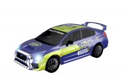 Teknotoys Subaru WRX blau/grün Slot-Car 1:43 Teknotoys 39001016
