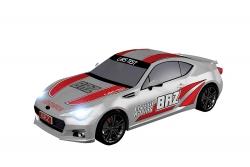 Teknotoys Subaru BRZ silber Racing Slot-Car 1:43 Teknotoys 39001019