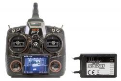 XciteRC DEVO F7 - 7-Kanal Fernsteuerset 2.4 GHz mit 5.8 GHz FPV und Empfänger RX-701 Walkera 50600200