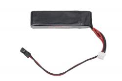LiFe-Empfängerakku 2S 6.6 V / 1300mAh für KM-Racing K8/H-K1 energyXXL 56400010