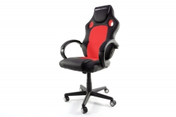 MOMO Design Gaming Chair Bürostuhl Chefsessel GC-002 mit Bluetooth Sound rot/schwarz MOMO-Design 83000011